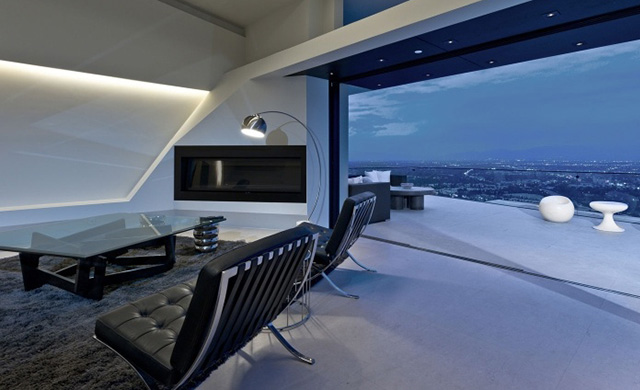 Void Elegant Interior : ... House with Jetliner Views  MUL:7691 by VOID Architects  dexignia
